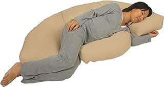 Leachco Body Bumper Pregnancy/Maternity Contoured Body Pillow System, Khaki