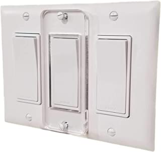 Decora Switch Light Switch Lock, Child-Safe, Residential, Lighting, Ect.