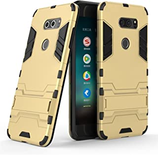 Case for LG V30 / LG V30 Plus (6 inch) 2 in 1 Shockproof with Kickstand Feature Hybrid Dual Layer Armor Defender Protectiv...