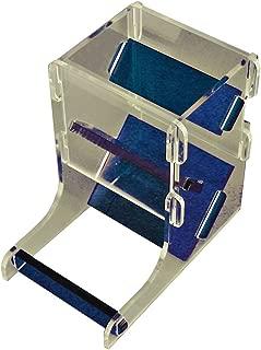 LITKO Mini Dice Tower Kit, Translucent Blue & Clear