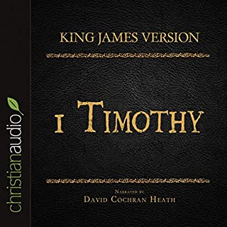 Holy Bible in Audio - King James Version: 1 Timothy audiobook cover art