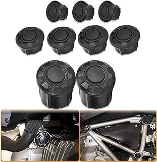 GUIFUG Cadre de Moto Trou Caches Plugs D/écor Set Accessoires//for BMW//Fit for R1200GS LC Adventure 2017 2018 R 1200 GS LC Volume Moyen Quotidien