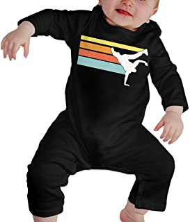 Baby Boys Paris Short Sleeve Climbing Clothes Pajamas Sleepwear Suit 6-24 Months