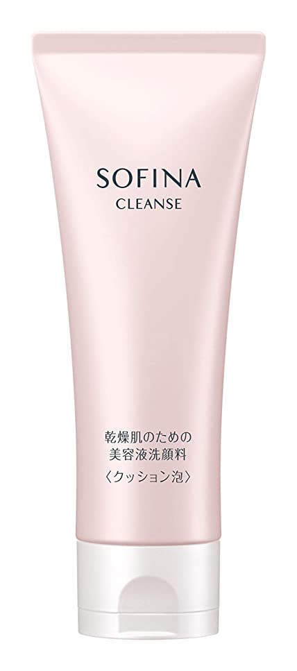 書店神同一のソフィーナ 乾燥肌のための美容液洗顔料 クッション泡 120g