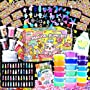 HSFTILV DIY Slime kit Supplies-2 Cloud Slime 8 Clear Slime 8 Butter Slime 2 Jelly Cube...