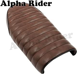 Vintage Cushion Flat Brat Seat Driver Saddle for Yamaha XJ550 XJ650 XS650 SR125 SR250 SR400 SR500 Honda CB 100 250 400 450 550