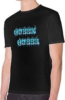 Pipixianjsnwn Queen Queer Mans Round Neck Short Sleeve Tee Shirt
