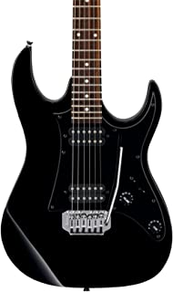 Ibanez 6 String Solid-Body Electric Guitar, Right Handed, Black (GRX20ZBKN)