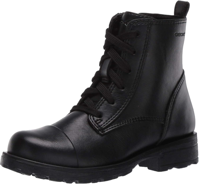 Time sale Geox Girls' Olivia Captoe Side Military cheap Boot