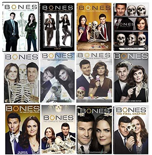 Bones Season 1-12 Complete Series