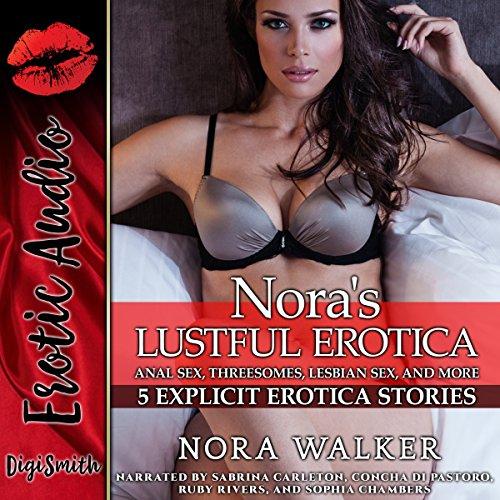 Nora's Lustful Erotica audiobook cover art