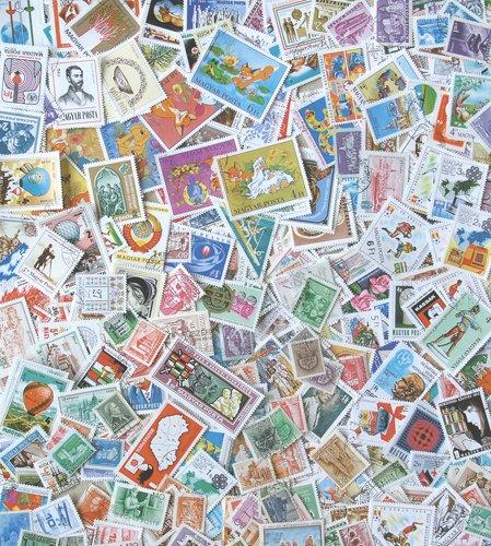 Goldhahn 500 Verschiedene Ungarn nur komplette Ausgaben gestempelt Briefmarken für Sammler