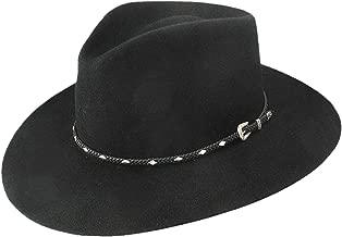 Stetson Men's 4X Diamond Jim Fur Felt Cowboy Hat - Sfdiag-163907 Black