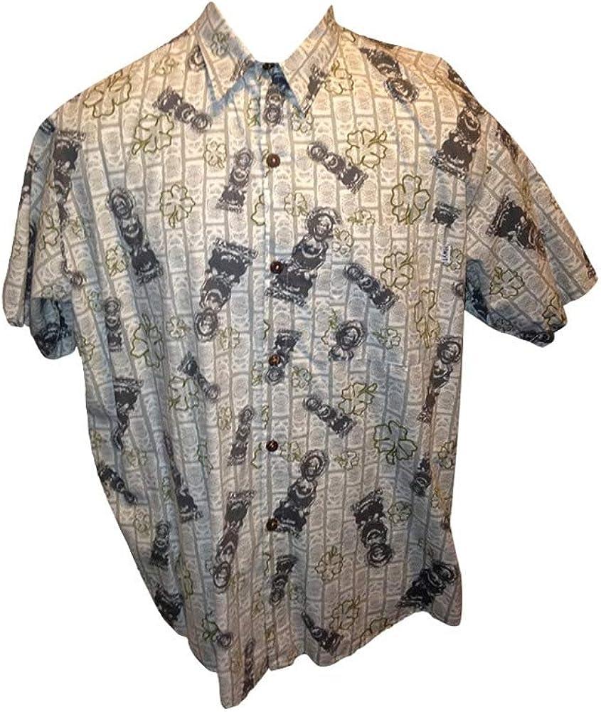 Big and Tall USA Made Hawaiian Shirts in Stylish Prints All Cotton