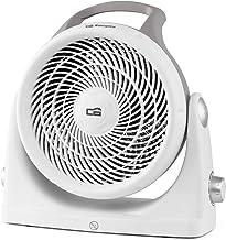 Orbegozo FH 6065 - Calefactor compacto, 3 posiciones de funcionamiento, termostato regulable, protección contra sobrecalentamiento, giratorio 90°, 2000 W, color blanco