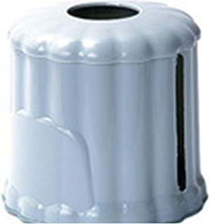 Easy Installation PP Durable Tissue Box Cylinder Home Storage Non-Toxic Paper Extraction Removable Lightweight Decoration,Blue