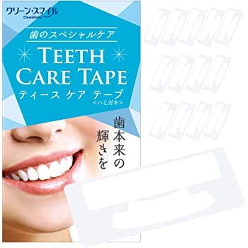 CleanSmile 歯 濃密 シート ハミガキ テープ 14日分