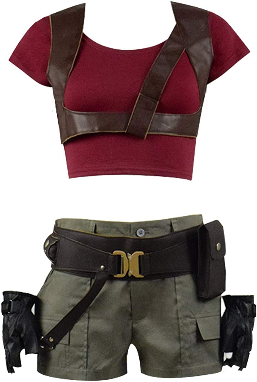 Movie Juman 2 Jungle Martha Max 40% OFF Costume Glov Vest Popular product Pants T-Shirt Belt