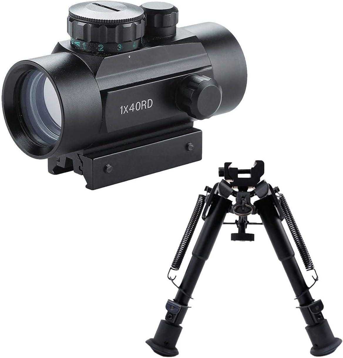 バーゲンセール Pinty Tactical 1x40mm Reflex Red Sight [再販ご予約限定送料無料] Green 6- Riflescope Dot