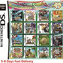 DoneCenter(TM) 208 in 1 Video Game Cartridge Multicart for DS NDS NDSL NDSi 2DS 3DS All System