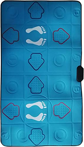 OPTIMISTIC Musical Step Dance Mat Dance Game for Adult Kids, Game Dancing Mat for 2 Person with Arrow, Indoor Dance Fitness Mat with Games & Music, Compatible with PC TV, Dance to The Beat