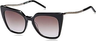 Karl Lagerfeld Black Glitter Sunglasses