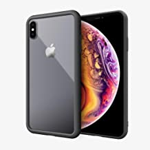 Absolute Technology LINKASE AIR with Apple Grade Gorilla Glass Case for Apple iPhone Xs MAX (Bonus: Cirago 9H Premium Super Hardness Tempered Glass Screen Protector is Included) (Black)