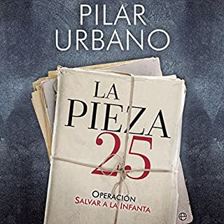 La pieza 25 [The 25th Piece] audiobook cover art