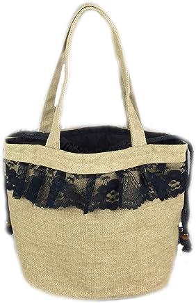 Baumwollpicknick-Tasche, Isolierte Lunchpaket aus Baumwolle, Lunchpaket Tragetasche, Isolations-Lieferpaket, Größe  11 Zoll × 5,5 Zoll × 7,4 Zoll (Farbe   Gelbschwarz) B07LD8LRN8 | Günstigen Preis