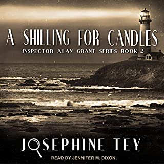 A Shilling for Candles audiobook cover art