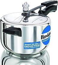 Hawkins Stainless Steel Pressure Cooker 4 Litre - Silver
