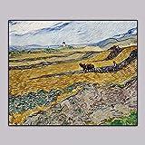 JHGJHK Arte Abstracto Van Gogh Pintura al óleo Arte de Pared sin Marco Pintura...