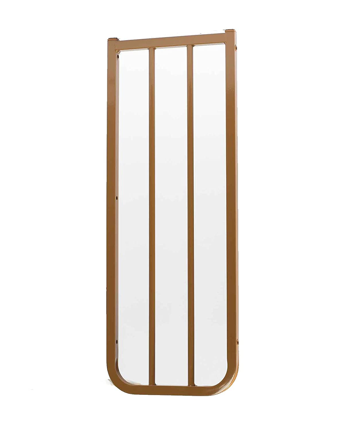 Cardinal Gates Extension for Outdoor Child Safety Gate, Brown, 10.5