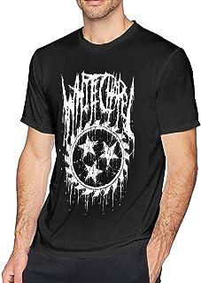 Whitechapels T Shirts Camiseta de Manga Corta para Hombre Negro