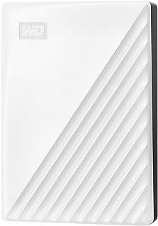 WESTERNDIGITAL WD ポータブルHDD 4TB USB3.0 ホワイト My Passport 暗号化 パスワード保護 外付けハードディスク / 3年保証 WDBPKJ0040BWT-WESN