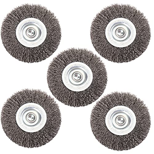 HOYIN 5PACK-3IN Wire Wheel Brush 3