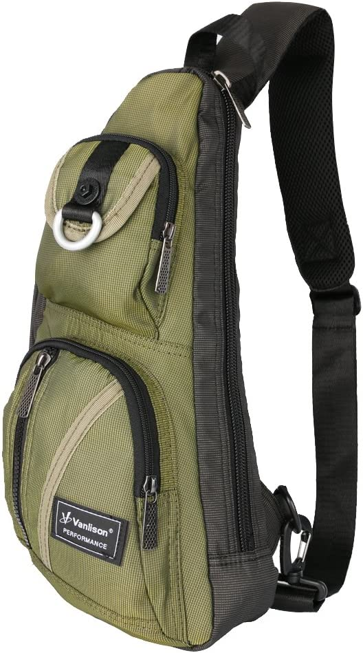 Sling Bag Chest Vanlison Ranking Now free shipping TOP12 Backpack For M Shoulder