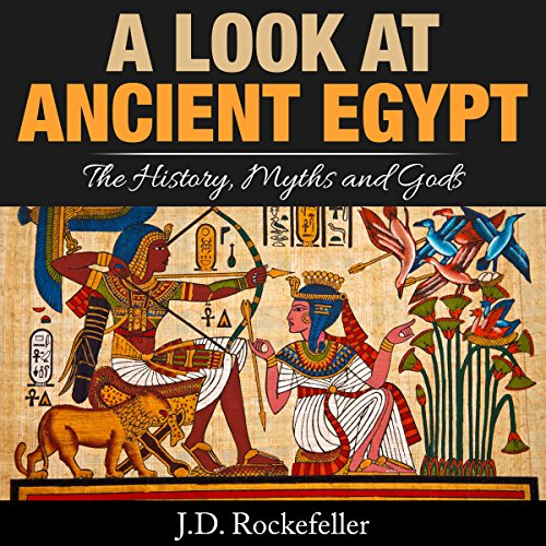 A Look at Ancient Egypt audiobook cover art