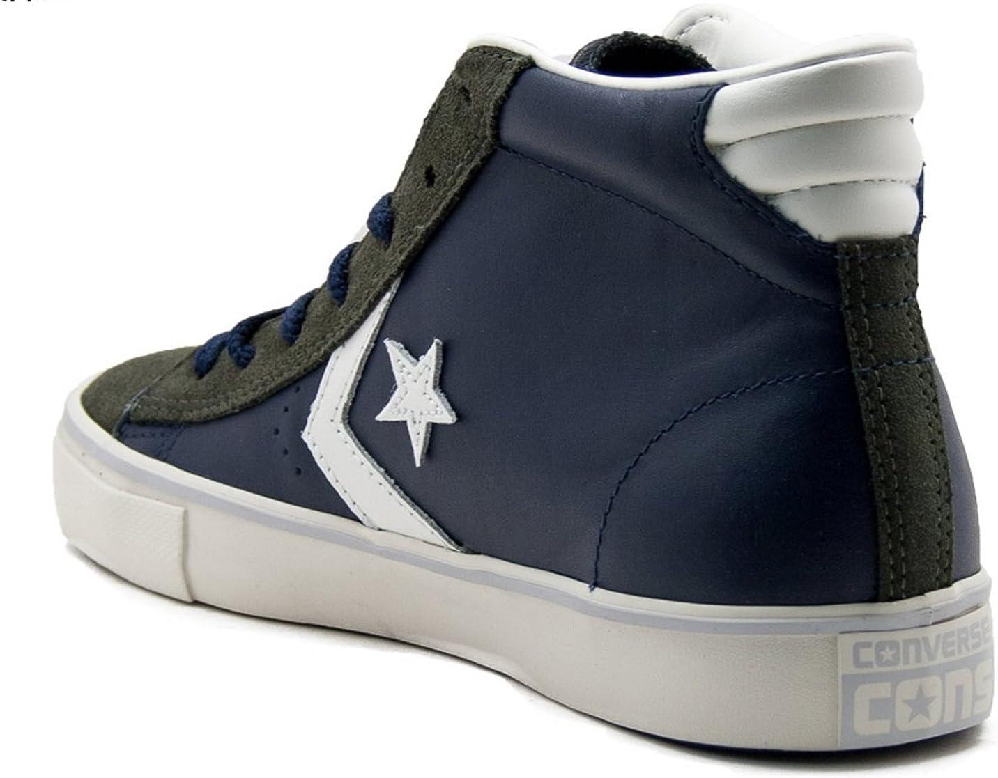 Converse - PRO Leather Vulc, Sneaker Alte Uomo : Amazon.it: Moda