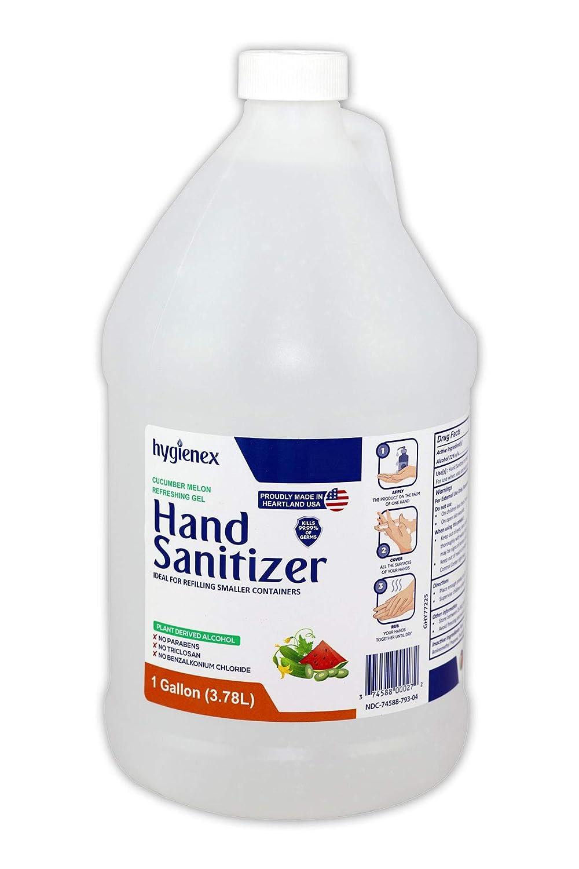 Hygienex Hospital Grade Hand Sanitizer Gel 1 Gallon Oz. 128 Outlet SALE Refr Free shipping on posting reviews