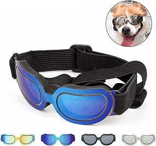 PETCUTE Gafas de Sol para Perros Mascotas Gafas de Sol Protectoras Resistentes al Agua para Perros medianos o pequeños