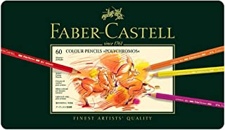 Faber-castell 辉柏嘉 专家Polychromosy 60色经典油性彩色铅笔110060