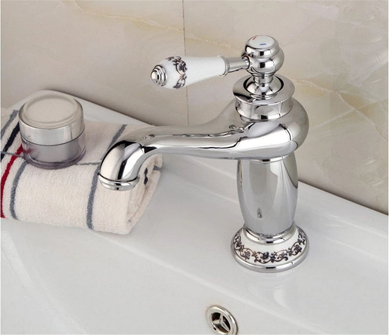 Küche mit herausziehbarer Dual-Spülbrause,Kaltes Heies Wassert Bassin chromé européen antique au-dessus du comptoir du robinet de la salle de bain robinet de cuisine chaud et froid