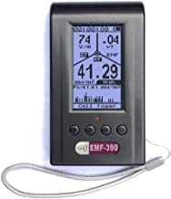 GQ Emf-390 Digital Emf Meter Rf Detector Detects Up to 10Ghz Real Time Data Logging