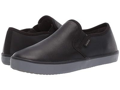 Geox Kids Jr Kilwi 33 (Little Kid/Big Kid) (Black Oxford) Boys Shoes