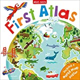 First Atlas-Travel the World with this Brightly Colored Atlas-Includes over 20 Maps and a World Map Poster