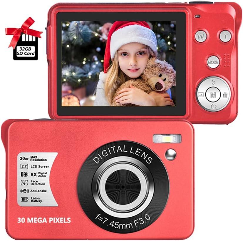 Digital Tucson Max 48% OFF Mall Camera 30MP Compact 2.7 Rechar inch Pocket
