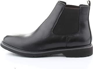Geox u brandled f stivali chelsea uomo amazon shoes neri inverno