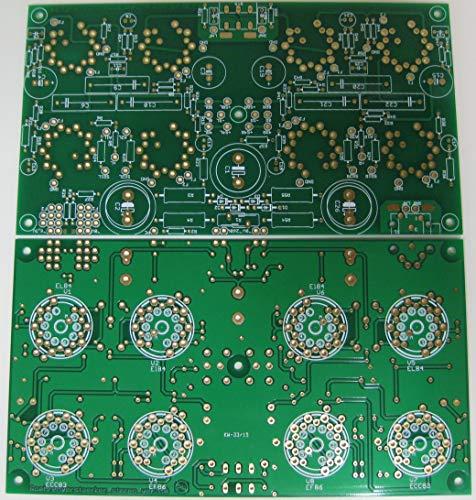 Verstärker Röhrenverstärker- Bausatz AMP2 nur Platine