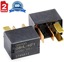 2 Pack G8HL-H71 AC Compressor Relay 39794-SDA-A03 39794-SDA-A05 for Honda Accord Civic Crosstour CR-V CR-Z Element Insight Odyssey Pilot Acura TL TSX MDX